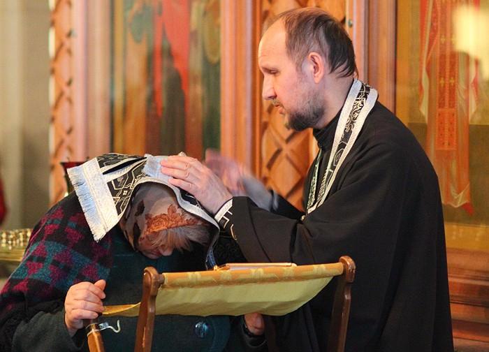 Великий пост, литургия Преждеосвященных Даров