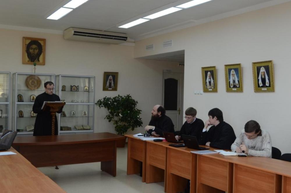 Фотогалерея Хабаровская семинария Защита курсовых работ  Фотграфия 04 jpg