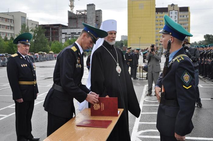 В московском пограничном институте фсб рф на осташковской улице состоялся торжественный выпуск