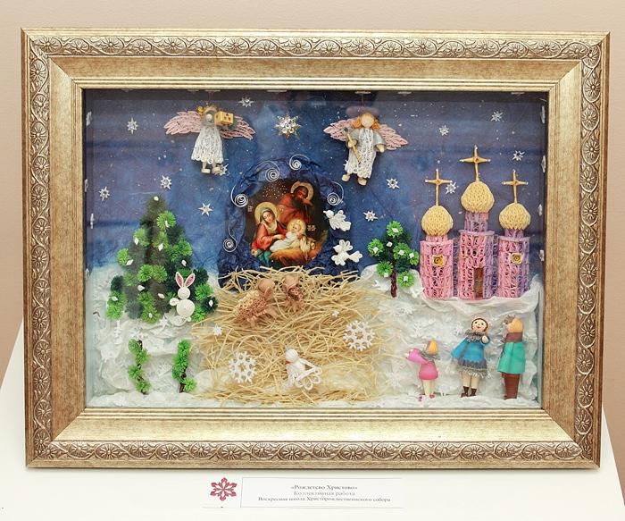 в хабаровске открылась выставка рождество глазами детей